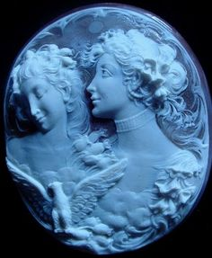 Amazing antique Cameo carved by Giovanni Noto 1902-1985.....stunning