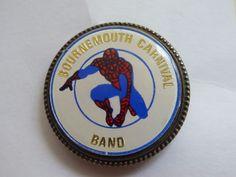Bournemouth Carnival Band Spiderman Pin Badge