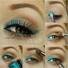 Summer-Makeup / sencillo y hermoso