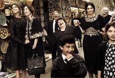 Dolce & Gabbana campaign....love these!!!