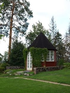 Hvitträsk, Kirkkonummi Tree Houses, Sheds, Finland, Cabins, Cottages, Castle, Villa, Spaces, House Styles