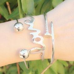 Love silver bangle