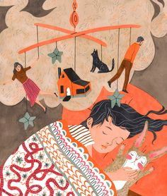 Riikka Sormunen - from Illustration Friday Blog