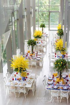Lemon Inspired Wedding At Royal Conservatory Of Music | Tablescapes | Toronto Rachel A. Clingen Wedding & Event Design