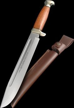 "Legendary Linder Bowie Knife""Crocodile Hunter"" 15.25"" overall 10.25"" blade"