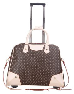Laptop Designer Bags ON Wheels P D Sable Collection TWO Toned ...