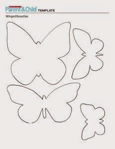 52 Ideas For Craft Felt Pattern Templates Butterfly Template, Butterfly Crafts, Butterfly Cutout, Felt Butterfly Pattern, Butterfly Felt, Butterfly Stencil, Butterfly Mobile, Butterfly Shape, Butterfly Birthday Party