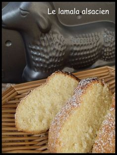 On this Easter Sunday I offer you the recipe for lamala a traditional recipe Alsace, Alsatian, Famous Recipe, Laetitia, Biscuits, Deserts, Brunch, Easy Meals, Food And Drink