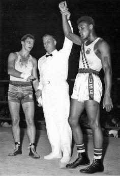 Cassius Clay ( Muhammad Ali) Olympics 1960.