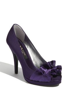 Nina Evelixa Peep Toe Pump available at Nordstrom in 7 colors. Why, yes, I shall buy one of every color!