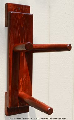Dragonblast - Wing Chun Flat Board Wooden Dummy (Made on Demand)