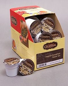 DEVONSHIRE ENGLISH BREAKFAST BLACK TEA --- by Celestial Seasonings --- 5 boxes of 24 K-Cups ** Visit the image link more details.