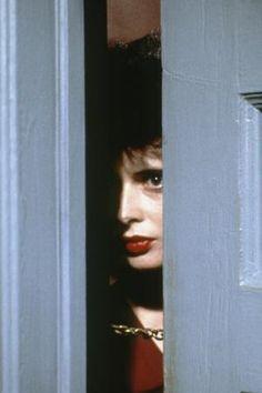 "last-picture-show: "" David Lynch, Isabella Rossellini in ""Blue Velvet"", 1986 "" David Lynch, Isabella Rossellini, Great Films, Good Movies, Twin Peaks, Cinema Video, Tv Movie, I Love Cinema, Film Serie"