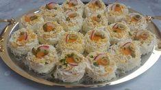 Potrebni sastojci za koru: jajeta ml Gourmet Recipes, Cooking Recipes, Healthy Recipes, Bosnian Recipes, Food Film, Homemade Marshmallows, Salty Snacks, Appetizers For Party, Food Inspiration