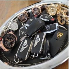 Luxury Car Keys ⚜ And #Watches