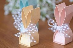 Easter Bunny Favors with Instructions - ColorSpell - Bunny Party Favors .Easter Bunny Favors with Instructions - ColorSpell - Easter Bunny Favors with Instructions - ColorSpell - anleitung colorspell detox gastgeschenke Paper box template collection Bunny Party, Easter Party, Fun Valentines Day Ideas, Valentine Day Gifts, Diy St Valentin, Easter Crafts, Holiday Crafts, Minecraft Party Favors, Mason Jar Wedding Favors