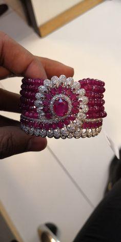 Lotus Jewelry, Ruby Jewelry, High Jewelry, Diamond Jewelry, Gold Jewelry, Jewelry Accessories, Jewelry Design, Jewellery, Diamond Bracelets