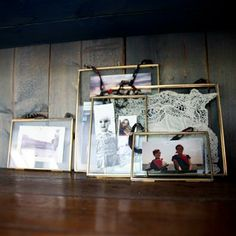 Elegant, vintage frames; ideal to frame those important keep sakes.   I will use in a group, clustered, to display wedding memories