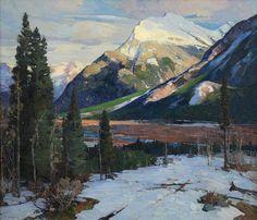 ALDRO HIBBARD Canadian Rockies