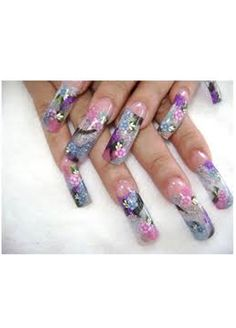 long acrylic nails Collection of Chic Acrylic Nail Art designs to Make you spellbound! Nail Art Cute, Long Nail Art, Trendy Nail Art, Long Acrylic Nails, Beautiful Nail Art, Long Nails, Beautiful Beautiful, Gorgeous Nails, Nail Art Designs Videos