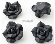 www.sayila.be - Polymeerklei kraal bloem ± 26x14mm - 25051