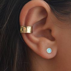 Special Offer-Set of two-Ear cuff and Opal stud #jewelry #earrings @EtsyMktgTool http://etsy.me/2lJmSXn