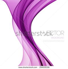 Vector Abstract  Purple curved lines background. Template brochure design.