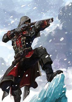 Assassin's Creed: Rogue artwork