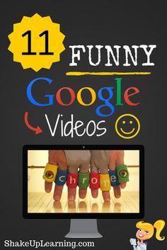 11 Funny Google Videos   Shake Up Learning   www.shakeuplearning.com #gafe #google #edtech