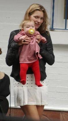 Kate Moss & Lila Grace (daughter)