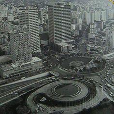 Plaza Venezuela años 60                                                                                                                                                     More