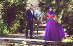 Muslim Couple ♥ ♡. . Said Mhamad photography