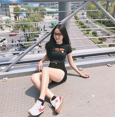 Burn baby burn 🔥 Tee from Sneaker fr 🥰 Chill Outfits, Trendy Outfits, Cute Outfits, Sexy Girl, Sexy Asian Girls, Fit Girls Images, Cute Girl Dresses, Teenage Outfits, Good Girl
