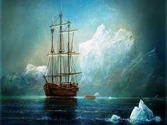 7.sailing wallpaper