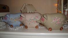 ♥+Glücksschwein+groß+-+Tilda+-+Deko+♥+SÜSSES+♥+von+Hand-Made-With-Love---by-Skalik++auf+DaWanda.com
