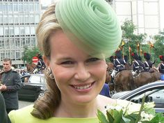 mathilde of belgium. Kinda strange but somehow I like it.