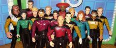 The Long, Fun Legacy of Star Trek & Playmates Toys Star Trek Action Figures, Star Trek Generations, Star Trek Movies, Paramount Pictures, S Star, Science Fiction, American, Toys, Fun