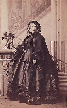 Camille Silvy - Augusta, Duchess of Cambridge, 1860 #TuscanyAgriturismoGiratola