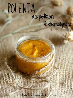 La polenta, issue du maïs, est rassasiante et parfaites pour les petits bébés affamés.
