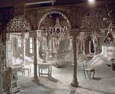Dr. Zhivago's ice palace. My favourite scene.