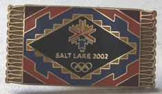Salt Lake 2002 Pin Collectible Olympics Southwest Rug Olympic Game Tack Hat Pin  ~ This Item is for sale at LB General Store http://stores.ebay.com/LB-General-Store ~Free Domestic Shipping ~