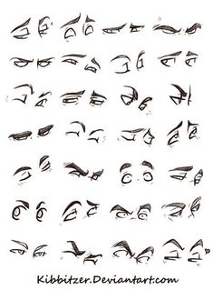 """Eyes Reference Sheet by Kibbitzer.deviantart.com on @DeviantArt [   """"LAST UPLOAD TODAY I PROMISE. izzy asked for a bit of help in drawing animal feet. These are the steps I use to draw dog legs and feet however it can be used for cats and any animal with this kind o..."""",   """"eye drawing tutorial"""",   """"Tutorial favourites by on DeviantArt"""",   """"These are my studies! To learn I often copy from real life or photos! I share them with you so you can copy them to learn or improve, but don"""