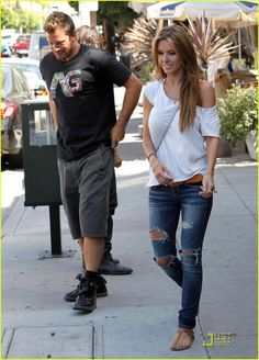 audrina patridge...love her hair and style here.
