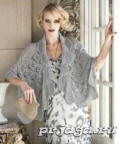 1000 Images About Chales En Crochet On Pinterest