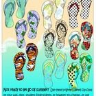 Totavi Toodles!  Hate to see summer end?  Keep it going a little longer with this flip flop packet.  Included are: 9 full page, full color flip flips (unique and or...