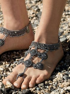 Boho Goddess Barefoot Sandals from Free People!