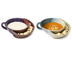 soup and crackers bowl! love this, especially for sick days