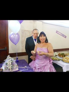 Lilac wedding theme made by myself   https://www.facebook.com/pages/Precious-Cakes/1611600112416790