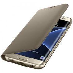 Köp Samsung Flip Wallet Samsung Galaxy S7 Edge Gold online http://www.phonelife.se/samsung-flip-wallet-samsung-galaxy-s7-edge-gold