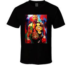 Mike Tyson Cool Art Boxer Fan T Shirt